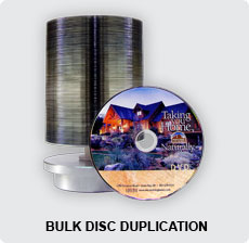 DVD In Bulk Disc Duplication