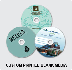 DVD In Custom Printed Blank Media