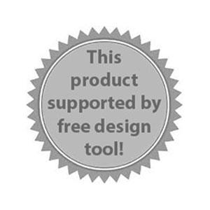 This product supported by free Design tool!