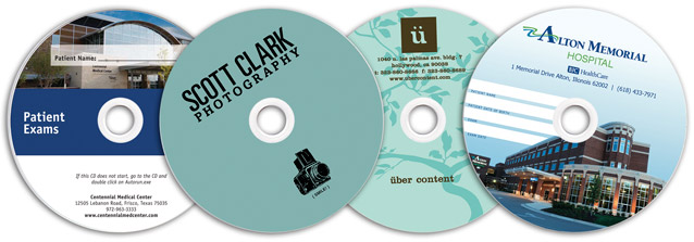 silkscreened blank cd media
